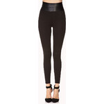 FOREVER21 Standout Faux Leather Leggings