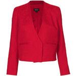 Topshop Embossed Tailored Jacket