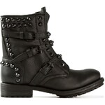ASH studded lace-up boots
