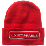 UNSTOPPABLE NYC Beanie Red White