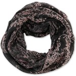 s.Oliver Lightweight, patterned snood