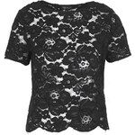 Topshop Scallop Lace Tee