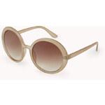 FOREVER21 F5335 Retro Round Sunglasses