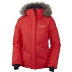 Columbia LAY D DOWN JACKET červená L