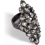 Alexis Bittar Pavo Nova Metallic Crystal Marquis Ring
