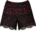 Anna Sui Lace Overlay Shorts