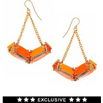 Made By EA Burns Exclusive For ASOS Mauteme Diamonds Earrings