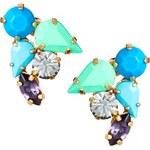 PL by Peter Lang Blue Stone Stud Earrings