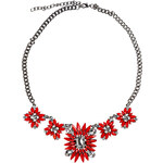 RUBIES AND ROCKS Statement-Kette RED BLOSSOM rot