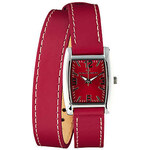 TOM TAILOR red strap watch