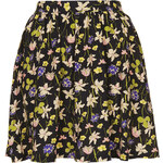 Topshop Wild Flower Flippy Skirt