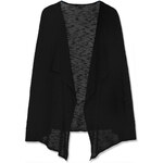 Tally Weijl Black Open Knitted Waterfall Cardigan