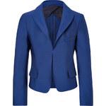Jil Sander Wool-Silk Cropped Blazer