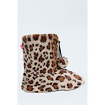 Tally Weijl Faux Sheepskin Slipper Boots
