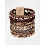 ALDO Ripa Multistrand Bracelet - Brown