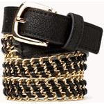 FOREVER21 Underground Woven Chain Belt