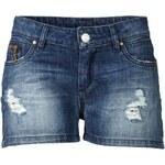 CONLEYS BLUE Jeansshorts, Destroyed Effekt