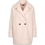 Tally Weijl Pink Double Button Cocoon Coat