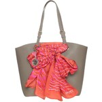 DKNY SCARF BAG Shopping Bag desert/casd pink