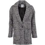 Bílo-černý kabát s kohoutí stopou ONLY Picadelly