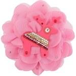 Růžová brož Deers Pinkie
