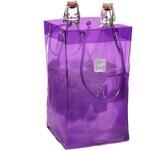 Fialová chladící taška na dvě láhve Ice bag Basic King Size