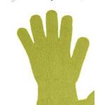 I-Moda Dámské zelené rukavice Uni/S-L)