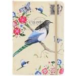Zápisník Santoro London Black Headed Bird Study