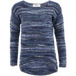 Modrý pruhovaný svetr Vero Moda Livia