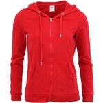 Červená mikina s kapucí Vero Moda Wendy