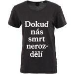 """DOBRO """"Dobré"""" černé unisex tričko pro Mezipatra"""