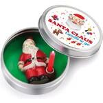 Vánoční svíčka do kapsy Donkey Santa Claus