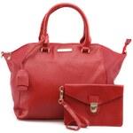 Mariamare Červená kabelka s psaníčkem MARIA MARE Fabien