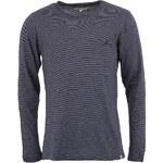 Tmavě modré pruhované triko s dlouhým rukávem !Solid Greatham