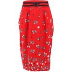 Červená sukně Trollied Dolly 50's Buckle