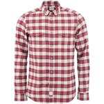 Kostkovaná flanelová košile Bertoni Slim Fit