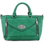 Menší zelená kabelka Milan Fashion