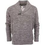 Šedý vlněný svetr !Solid Jamon