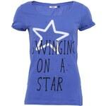 Modré tričko s hvězdou Only Amelli