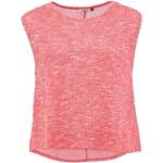 Červené volnější tričko Only Misty