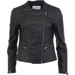 Černá koženková bunda b.young Betina