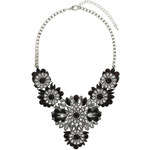 Topshop Stone Flower Collar