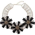 Topshop Premium Flower Collar