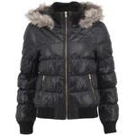 Černá bunda s kožíškem Vero Moda