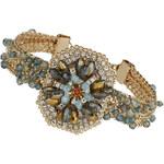 Topshop Rhinestone Octagon Bracelet