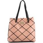 Černo-růžová kabelka se vzorem Anna Smith