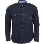 Tmavě modrá pánská džínová košile Voi Jeans Spike