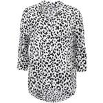 Bílá košile s leopardím vzorem ONLY Hallow
