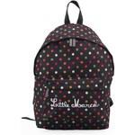 Černý batoh s barevnými puntíky Little Marcel Niby