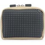 Béžovo-šedá kosmetická taška Pixelbags Canvas Handbag